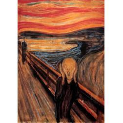Puzzle Classique - Le Cri - Munch (1000 pcs)