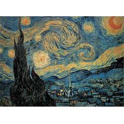 Puzzle Classique - Nuit Etoilée - Van Gogh (1000 pcs)