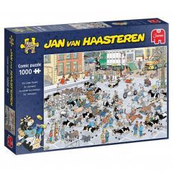 Puzzle Comic - Cattle Market (1000 pcs)