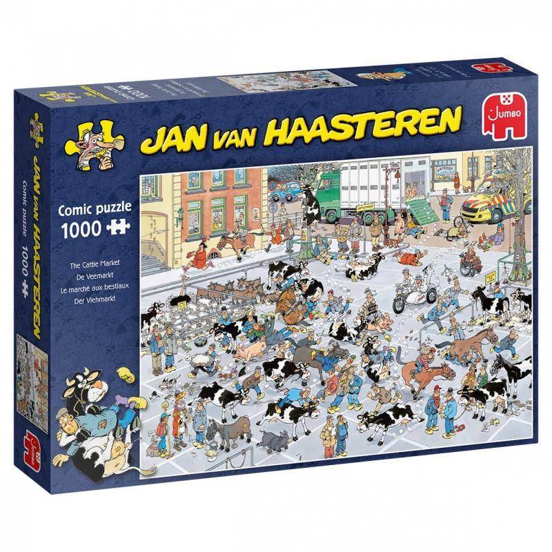 0Puzzle Comic - Cattle Market (1000 pcs)