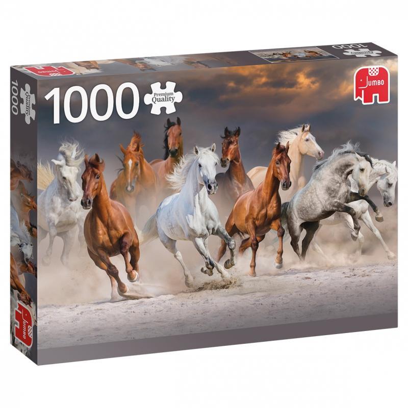 0Puzzle - Desert Horses (1000pcs)