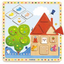 Puzzle éducatif - Ludigeo