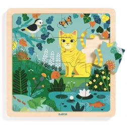 Puzzle en bois - Puzzlo Lily (16 pcs)