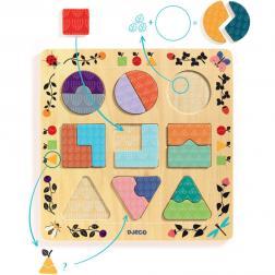 Puzzle Encastrement Bois - Ludigraphic