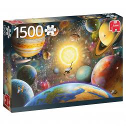 Puzzle - Floating in Outerspace (1500 pcs)