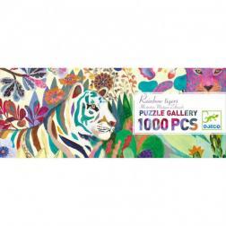 Puzzle Gallery - Rainbow Tigers (1000 pcs