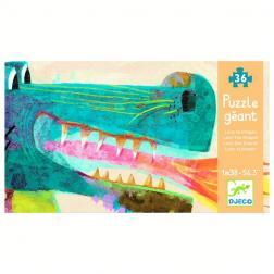 Puzzle Géant - Léon le Dragon (58 pcs)
