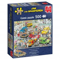 Puzzle - In the Car Respraying Shop (500 pcs)