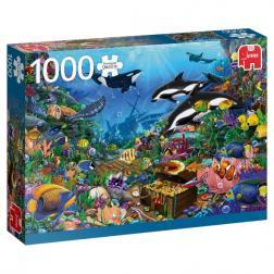 Puzzle - Joyaux des profondeurs (1000 pcs)