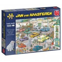 Puzzle - Jumbo Goes Shopping (1000 pcs)