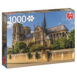 Puzzle Monument - Notre Dame, Paris (1000 pcs)