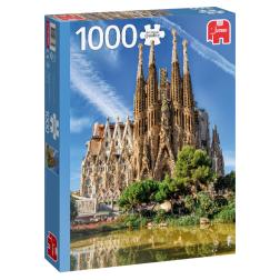Puzzle Monument - Sagrada Familia View, Barcelona (1000 pcs)