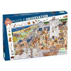 Puzzle Observation - Château Fort (100 pcs)