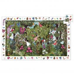 Puzzle Observation - Jeux au jardin (100 pcs)
