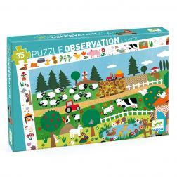 Puzzle Observation - La Ferme (35 Pcs)