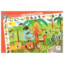 Puzzle Observation - La Jungle (35 pcs)