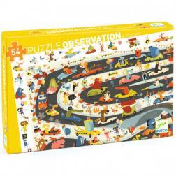 Puzzle Observation - Rallye automobile (54 pcs)