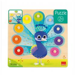 Puzzle Paon