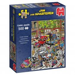 Puzzle - Scooter Scramble (500 pcs)