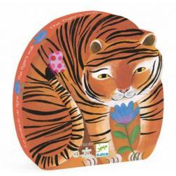 Puzzle Silhouette - La Balade du Tigre (24 pcs)