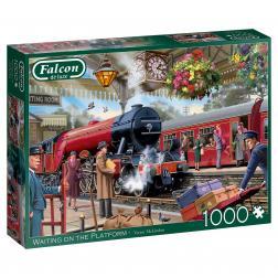 Puzzle - Waiting on the Platform (1000 pcs)