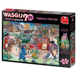 Puzzle Wasgij ! Destiny 21 - Highway Holdup! (1000 pcs)