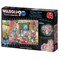 Puzzle Wasgij ! Mystery 17 - Catching a Break! (1000 pcs)