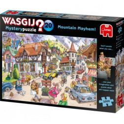 Puzzle Wasgij ! Mystery 20 - Mountain Mayhem! (1000 pcs)