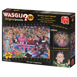 Puzzle Wasgij ! Original 30 - Strictly Can't Dance! (1000 pcs)