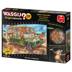 Puzzle Wasgij ! Original 31 - Safari Surprise! (1000 pcs)