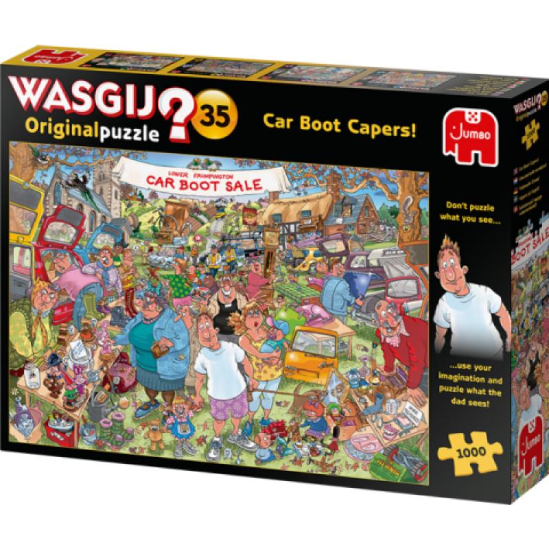 0Puzzle Wasgij ! Original 35 - Car Boot Capers! (1000 pcs)