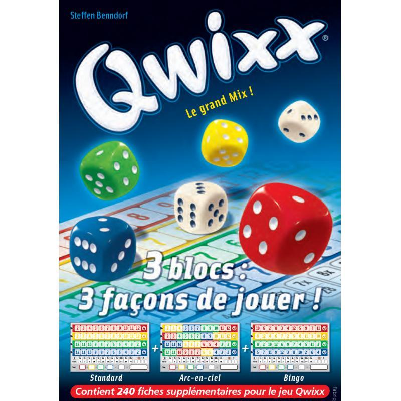 0Qwixx - recharge bloc de score
