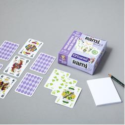 Rami Junior - 2 jeux de 55 cartes