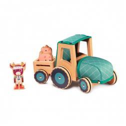 Rosalie - Tracteur en bois