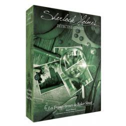 Sherlock Holmes Détective Conseil - Les Francs-Tireurs de Baker Street