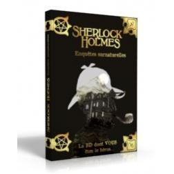 Sherlock Holmes T7 : Enquêtes Surnaturelles - La BD dont vous êtes le héros