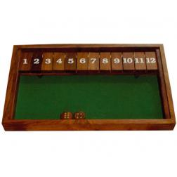 Shut the box 12 - Palissandre