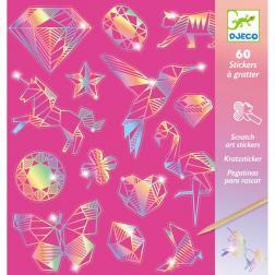 Stickers à gratter - Diamond (50 stickers à gratter)