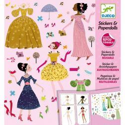 Stickers & Paperdolls - Robes des 4 Saisons