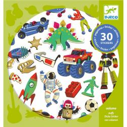 Stickers - Retro Toys