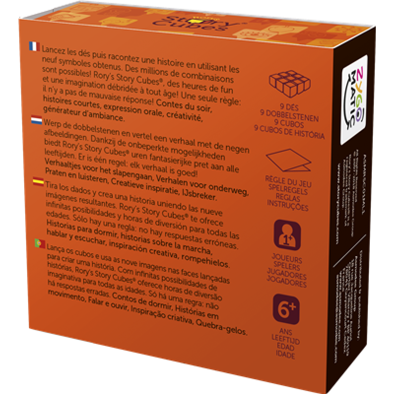 2Story Cube - Original (orange)