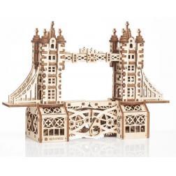 Tower Bridge - Petite maquette 3D mobile en bois